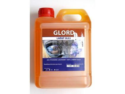 GLORD lněný Omega 3 olej pro koně 2l