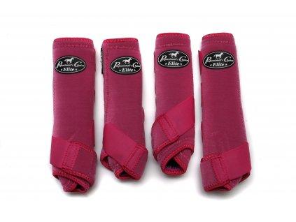 Neoprenové chrániče VenTECH Elite Sports Medicine Boots 4 Pack Raspberry