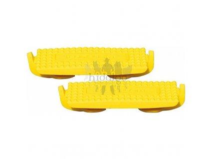 Gumy do třmenů Compositi žluté 12cm