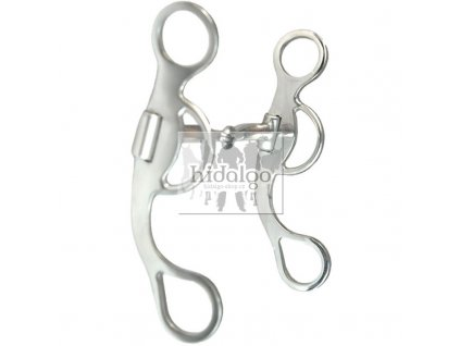 snaffle with short shanks bit