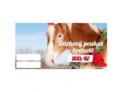 Dárkový poukaz 500 CZK
