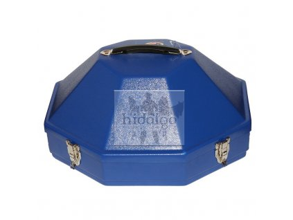 Box na klobouk modrý