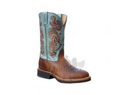 Dámské westernové boty Twisted X Women's Horseman Sky Blue