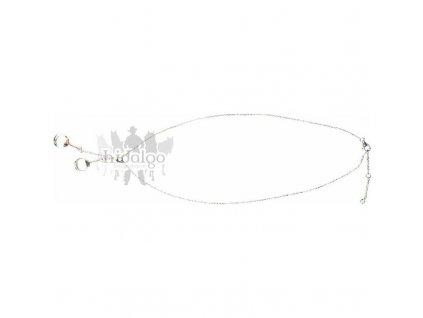 Stříbrný náhrdelník - Udidlo