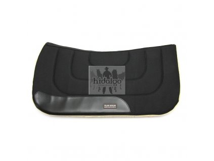 Westernová deka Heavy Working Pad Black