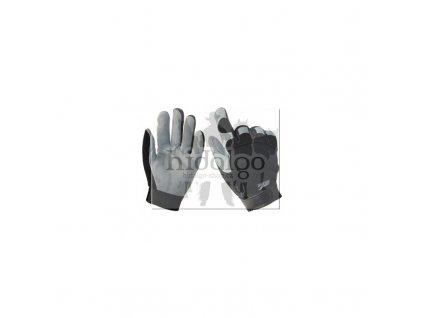 Westernové jezdecké rukavice Eagle Grey