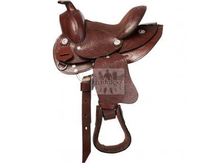 """Westernové sedlo RANDOL'S Topeka 13"""" pony"""