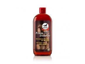 Šampón LEOVET Power vlašský ořech pro tmavé koně 500ml