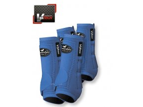 Neoprenové chrániče VenTECH Elite Sports Medicine Boots 4 Pack Royal Blue