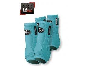 Neoprenové chrániče VenTECH Elite Sports Medicine Boots 4 Pack Tyrkys