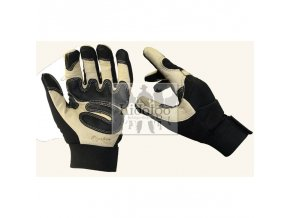 riding gloves black eagle