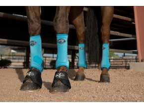Neoprenové chrániče VenTECH Elite Sports Medicine Boots 4 Pack Pacific Blue