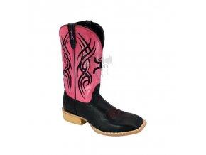 Dámské westernové boty Twisted X Hooey Pink