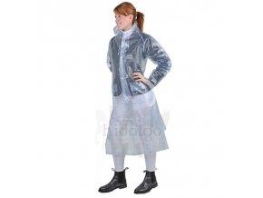 Pláštěnka kabátová transparentní
