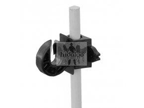 Izolátor ohradníku kroužkový KOMBI 12mm (25)