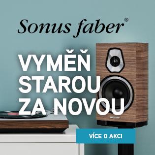 Slevová akce na všechny reprosoustavy Sonus Faber.