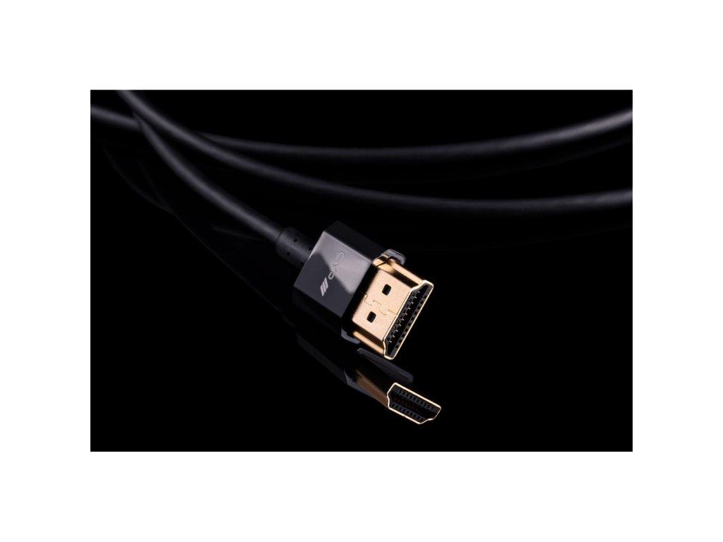 CYP HDMI kabel, ultra tenký, HDMI 2.0, 4K
