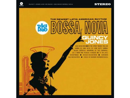 Quincy Jones: Big Band Bossa Nova (180 g) (limitovaná edice)