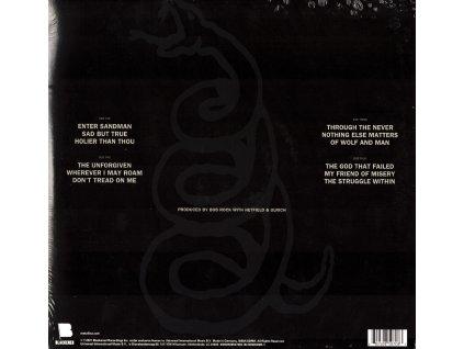 Metallica: Metallica (180 g)
