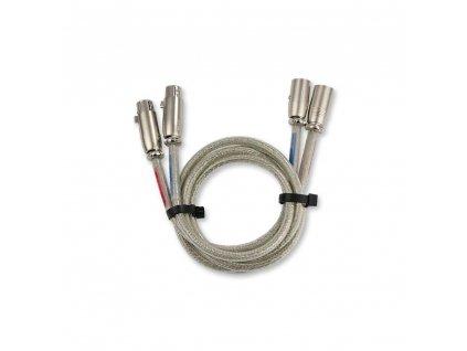 Burmester • NF Silver cable (set) 1 Meter, XLR3