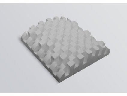SONITUS - DIFFUSERS Bigfusor II (60x60x16 cm) 3ks /bal (1,08 m2)