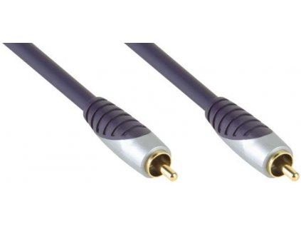BANDRIDGE PREMIUM Subwoofer Audio Cable [RCA Male - RCA Male 5.0m]
