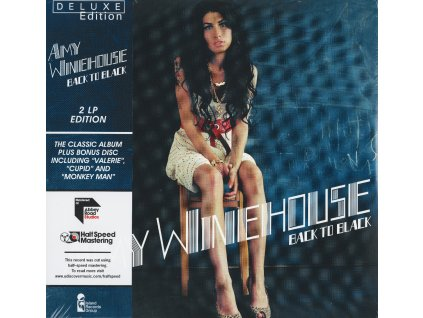 Amy Winehouse: Back To Black (180g) (Limited Deluxe Edition) (HalfSpeed Mastering)