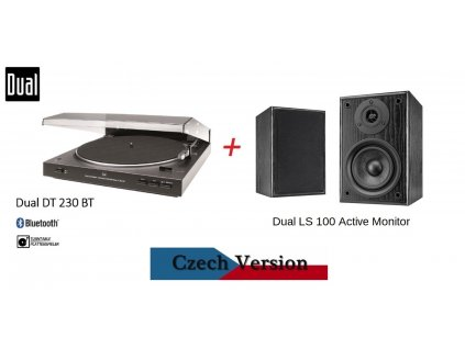 DUAL DT 230 BT + DUAL LS 100 Active monitor
