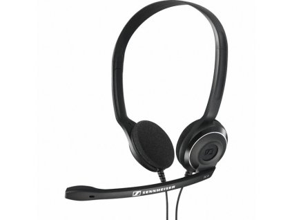 PC 8 USB Over the head, binaural VoIP USB headset with USB adapter PC 8 USB