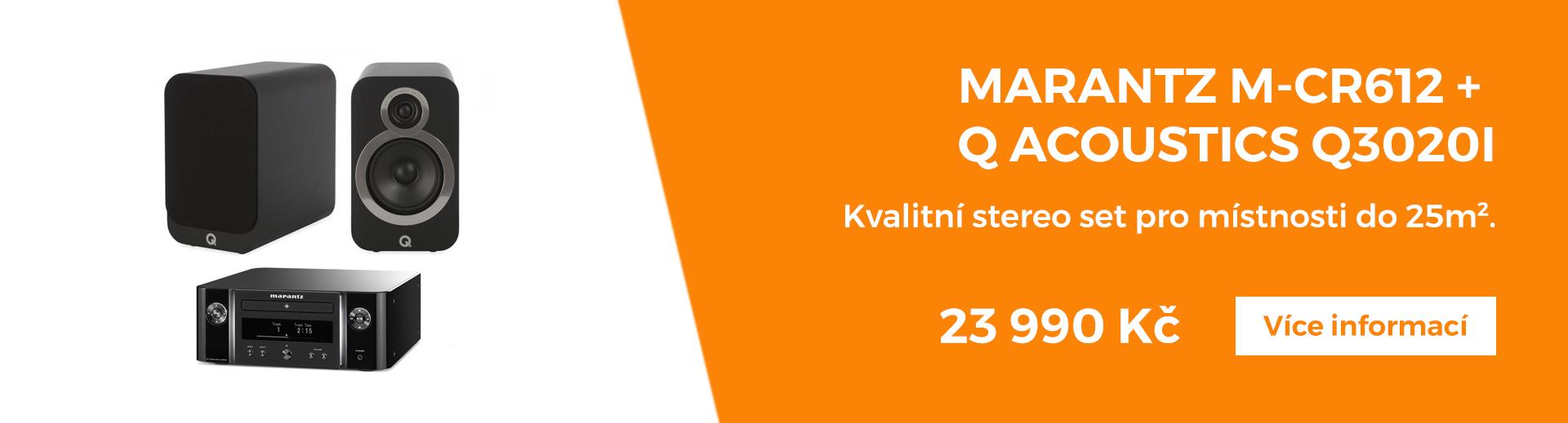 marantz + qacoustics