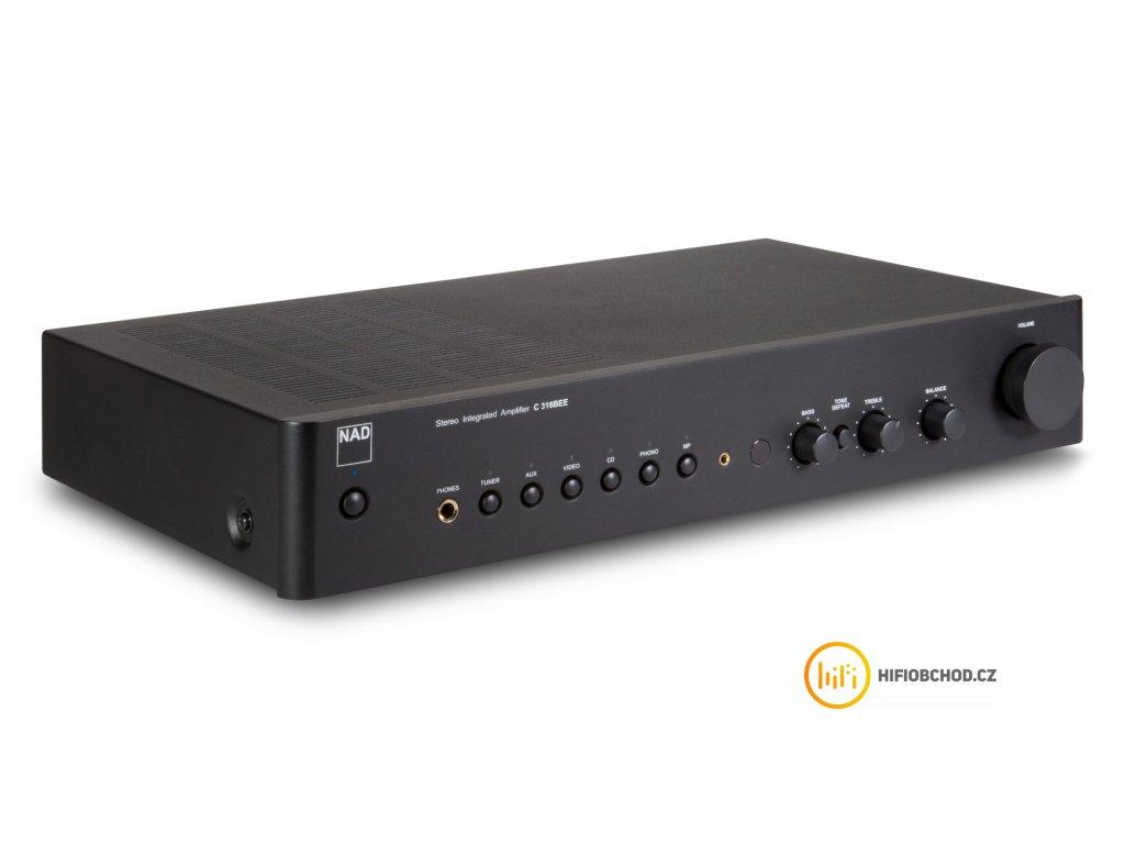 NAD C 316BEE + kvalitní cinchový kabel ZDARMA