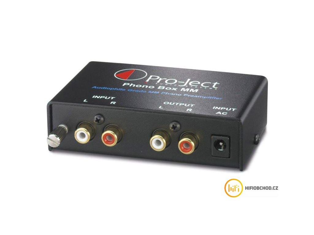 phono box mm predzesilovac pro mm prenosky