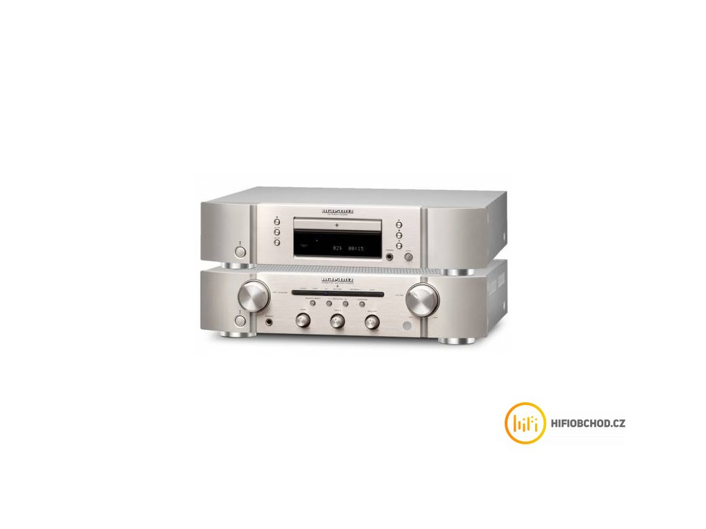 Marantz PM5005 + CD5005 (Barva Slivergold)