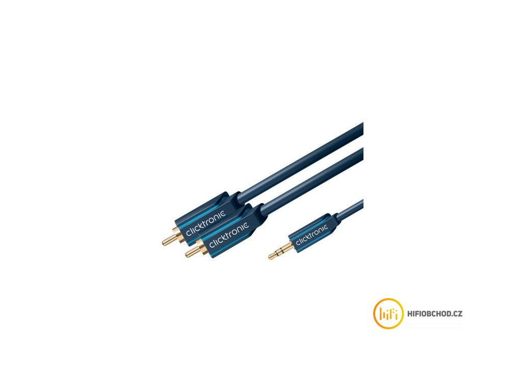 ClickTronic HQ OFC kabel Jack 3,5mm
