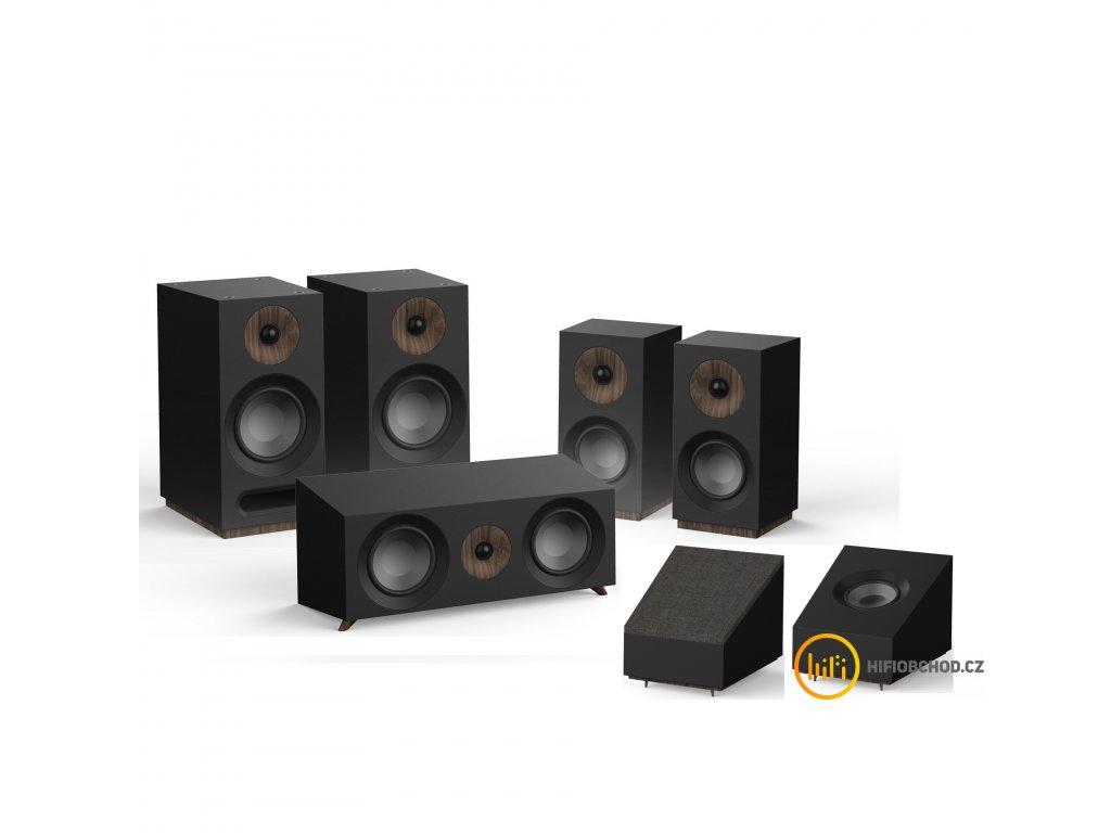 Jamo S 803 HCS Black atmos