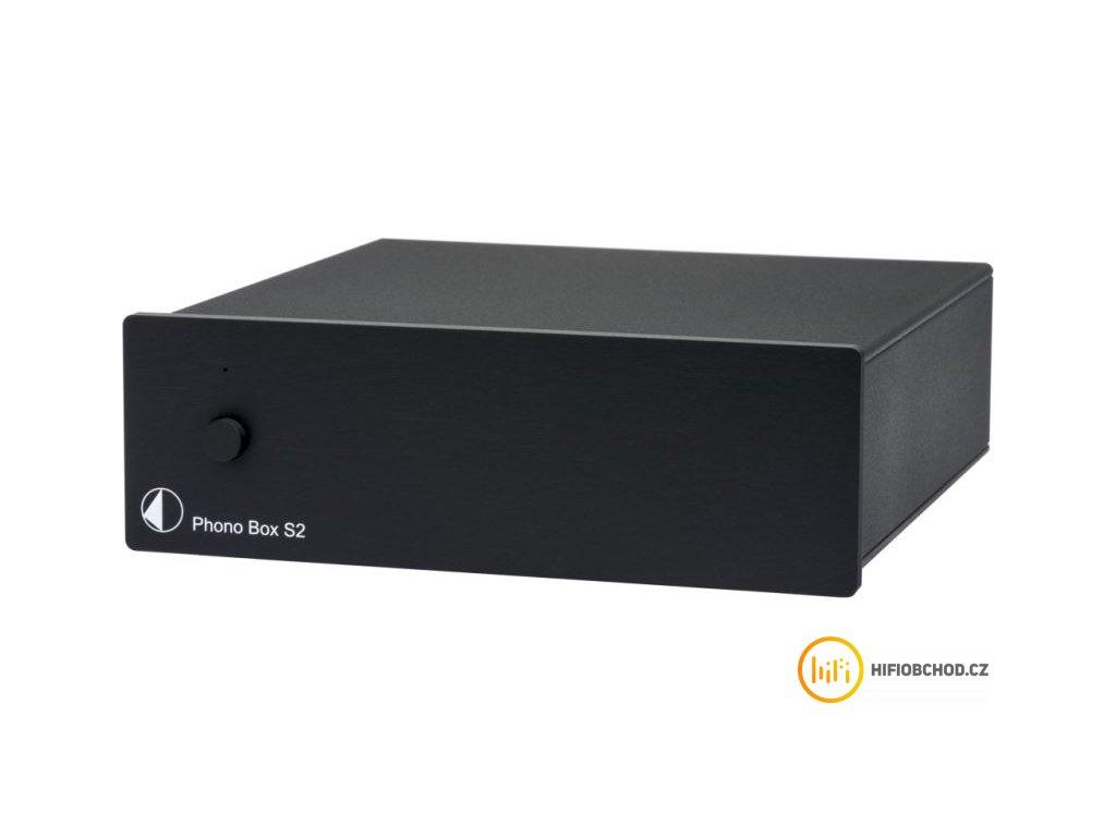 pro ject phono box s2 black uni