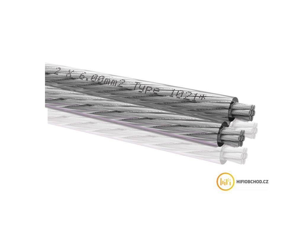 Oehlbach repro kabel Silverline LS Kabel 2x6,0mm transparent
