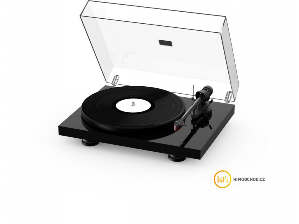 pro ject debut carbon evo 2mred high gloss black (1)