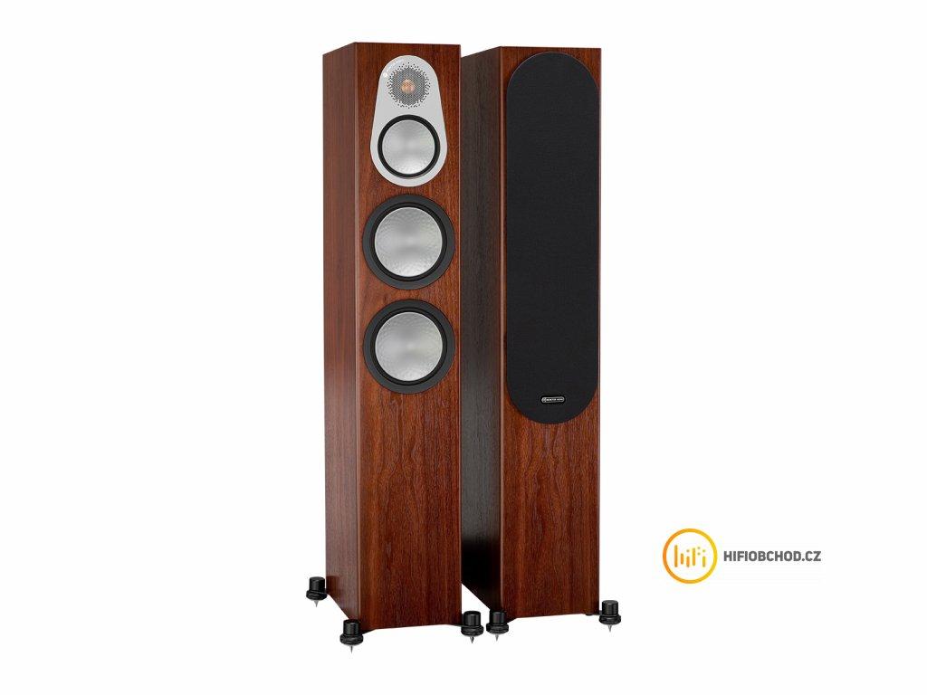 monitor audio silver 300 iso walnut pair 1gr 1