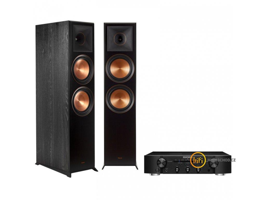 rp 8000f ebony vinyl pair