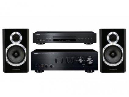 Yamaha + Wharfedale A-S501 + CD-S300 + DIAMOND 10.1
