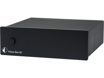 pro ject phono box s2 black uni