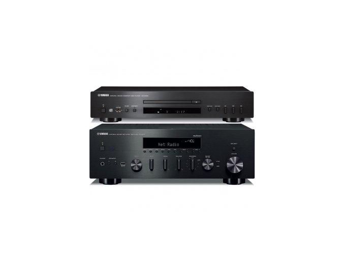 Yamaha R-N602 + CD-S300 (Barva Černá)