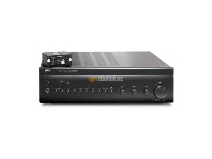 NAD C 356BEE DAC Black + kvalitní cinchový kabel ZDARMA