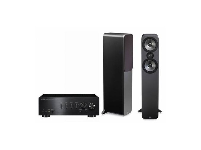 Yamaha + Q Acoustics A-S701 + 3050 (Barva Graphite)