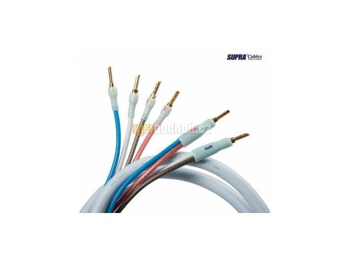 Supracables Quadrax SET 4x2.0 Bi-wire CombiCon