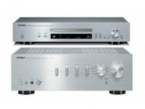 Yamaha A-S501 + CD-N301 (Barva Stříbrná)
