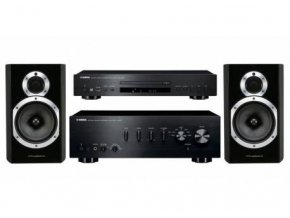 Yamaha + Wharfedale A-S501 + CD-S300 + DIAMOND 10.1
