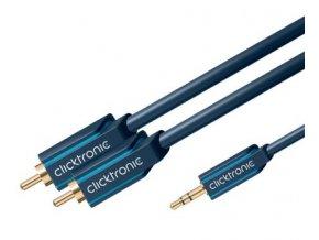 ClickTronic HQ OFC kabel Jack 3,5mm