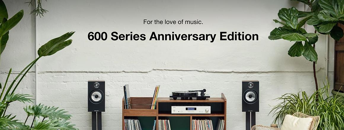 B&W 600 Series Anniversary